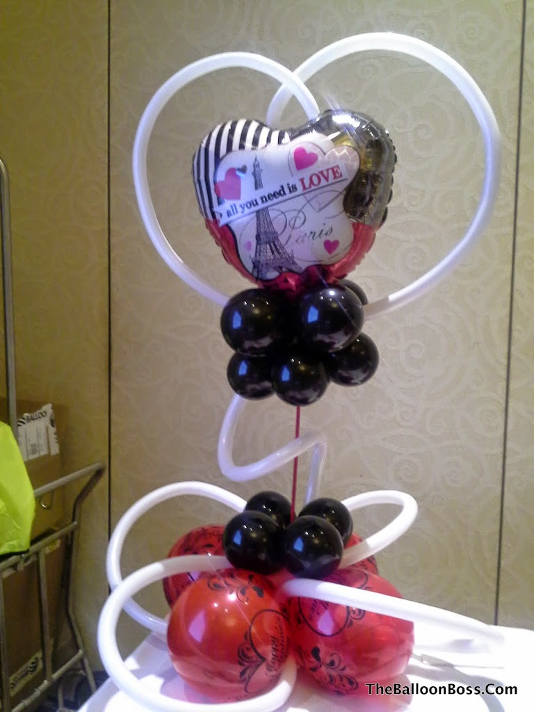 Balloon centerpieces nj the