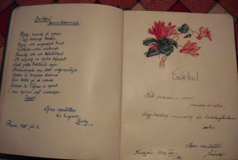 idézetek emlékkönyvbe tanároknak Aranyosfodorka napjai: A rózsás emlékkönyv
