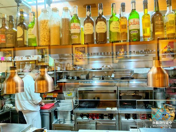 我在法森小館與法式料理的老派約會