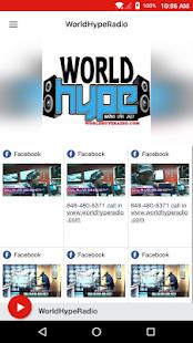 WorldHypeRadio - náhled