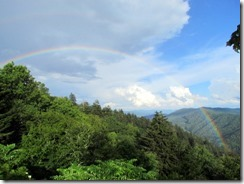 Rainbow at Newfound Gap