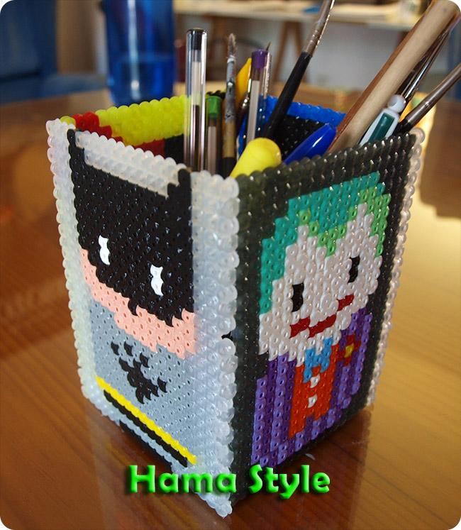 Trabajos 3D Hama Style Lapicero_batman_hama2
