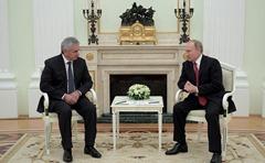 Vladimir Putin, Raul Khadjimba.