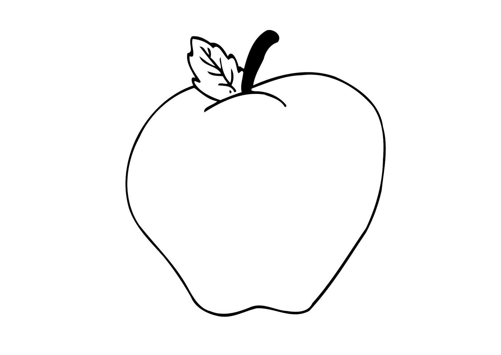 Lujo Dibujos De Manzanas Para Colorear E Imprimir