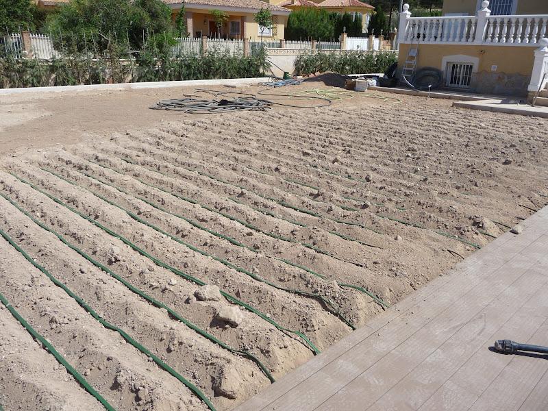 ejecución jardín diseño proyecto jardinería paisajismo san vicente alicante riego enterrado