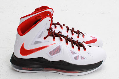 nike lebron 10 gr miami heat home 5 05 Nike LeBron X HOME Arriving at Retailers   New Images