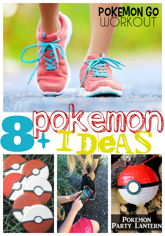 8  Pokemon Ideas at GingerSnapCrafts.com #pokemon