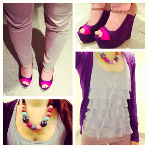 {Outfit of the Day} Wild Berry Skittles