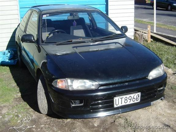 1990 Mitsubishi Mirage Hatchback Specifications Pictures