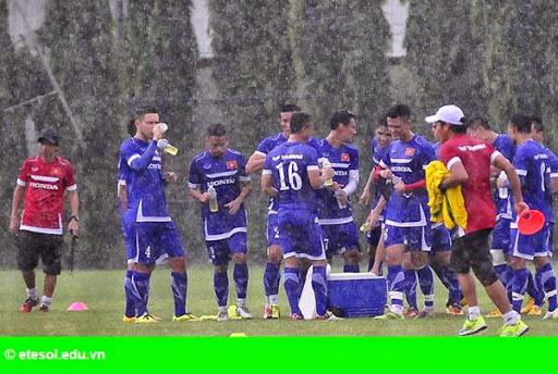 Hình 4:   Cầu thủ Việt cởi trần khoe body chuẩn