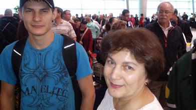 Photo: В Pearson airport куча народу, все хотят под пальмы