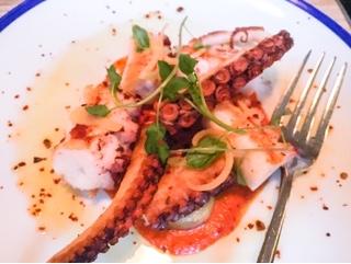 Byblos Toronto: Spanish octopus