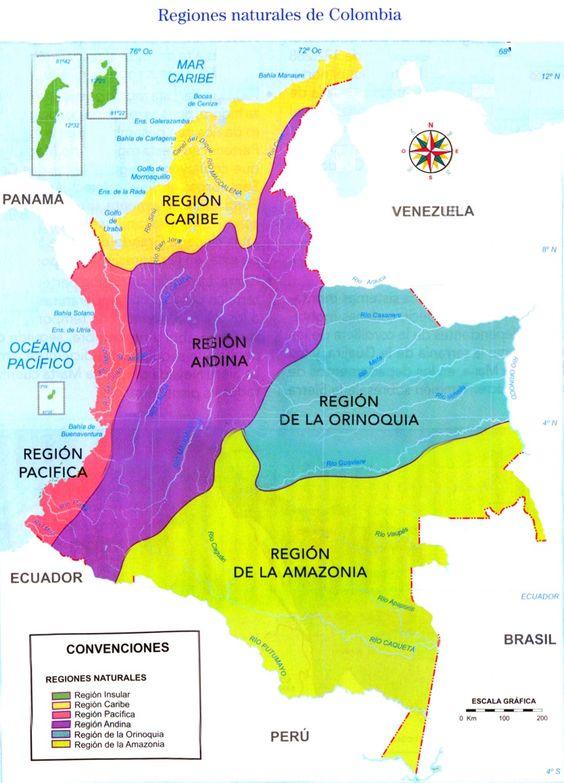 2017 a la-s- 3:09:47 p.m.Mapa de Colombia con sus regiones naturales y sus productos 2
