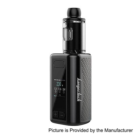 authentic kangertech akd iken 230w 5100mah tc vw variable wattage mod iken tank kit black 1230w 4ml 24mm diameter thumb%255B2%255D - 【海外】「Kendo Vape Cotton (Gold Edition-5個パック)」「Ignytech Melo RDA」「Soomook YST 80 1000mAhスターターキット」
