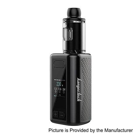 authentic-kangertech-akd-iken-230w-5100mah-tc-vw-variable-wattage-mod-iken-tank-kit-black-1230w-4ml-24mm-diameter