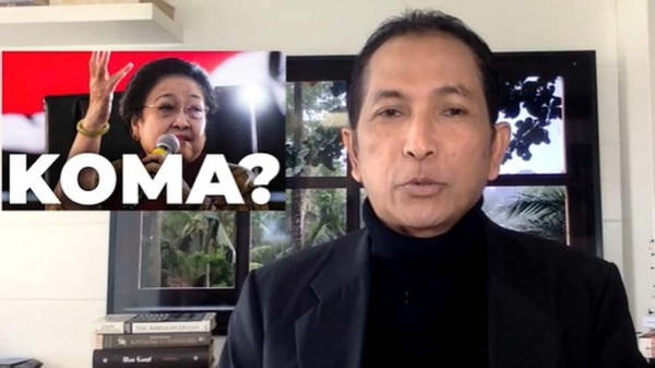 Dituduh Sebar Hoax Megawati Koma, Ini Kata Hersubeno Arief