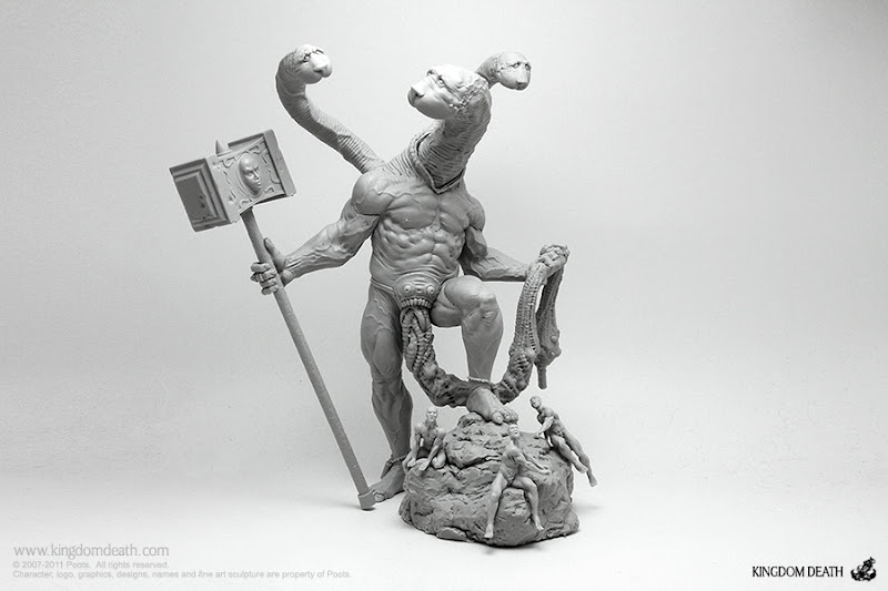 kingdom death monster forge god