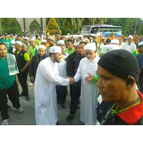 TG Haji Hadi Ketuai Perarakan Calon PAS Dun Sg Limau
