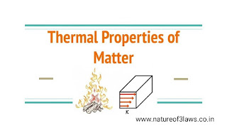 Thermal properties of matter- IIT STUDY NOTES