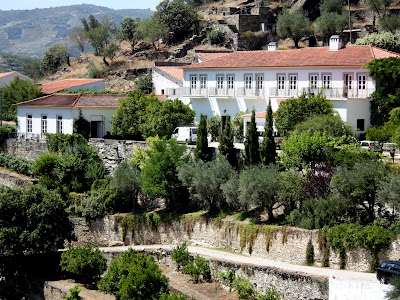 Fonseca winery in the Douro Valley in Portugal