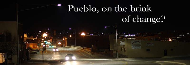 Top, Pueblo, on the brink of change.