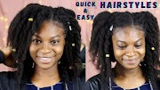 Different ways to style your locs under 7 minutes with miss_sennie