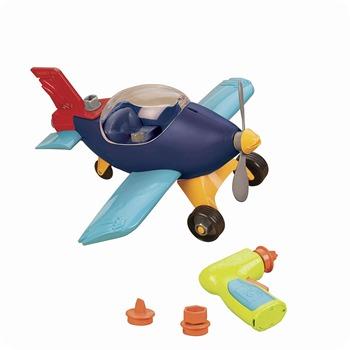 b toys airplane