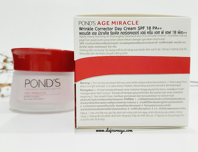 Ponds Age Miracle Wrinkle Corrector Day Cream Review