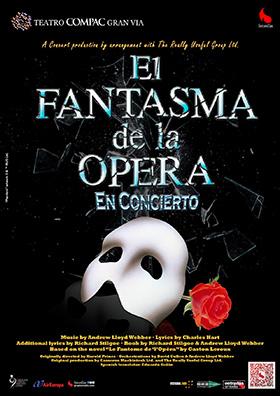 El Fantasma de la Ópera en concierto