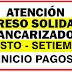 ¿Se aplazará la 17ª Transferencia de Ingresos solidario  hasta septiembre?