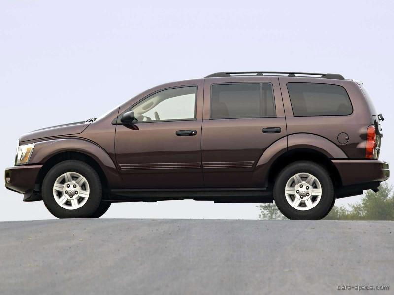 2007 dodge durango suv specifications pictures prices. Black Bedroom Furniture Sets. Home Design Ideas