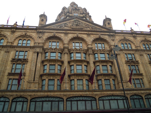 Harrods. From Best Museums in London and Beyond