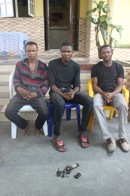 Rivers police arrests 23-year-old ritualist for killing 8-year-old girl [PHOTOS]