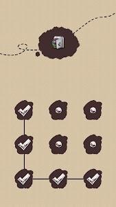 AppLock Theme ChalkDoodle screenshot 0