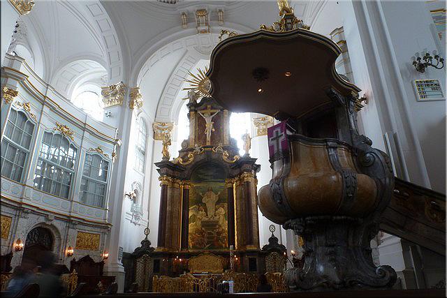 Iglesia de San Miguel (Interior) - Hamburgo
