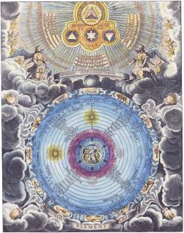 The World Of The Celestial Intelligences And The World Of The Elements, Emblems Related To Alchemy