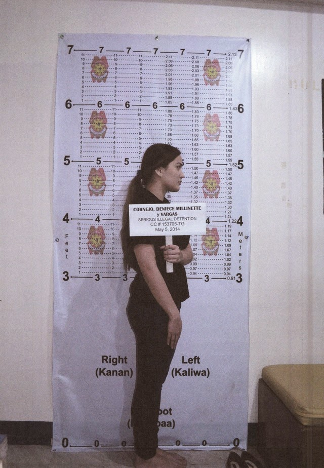 Deniece Cornejo Arrest Mugshot Photos 02-May-06-2014 Right Side View