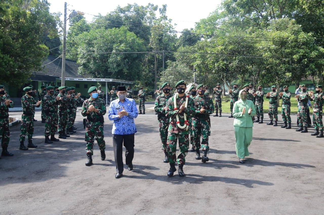 Purna Tugas Operasi Wilayah Papua, Danbrigif Raider 13/Galuh di Sambut Forkopimda Tasikmalaya
