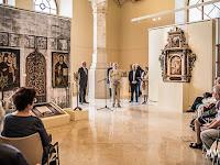 A tárlat 2016_ június _i megnyitóján a Magyar Művészeti Akadémia elnöke.jpg