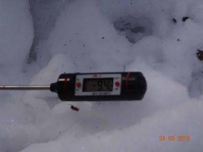 A termometr w tym momencie pokazywał -9,4 st. C.