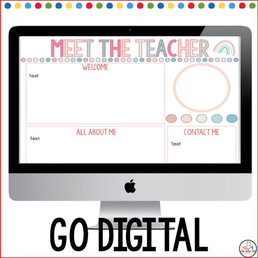 PowerPoint Meet the Teacher resources