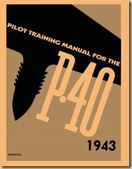 Curtiss  P-40 Warhawk Pilot Training Manual_01