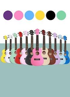 ukulele concert tron mau