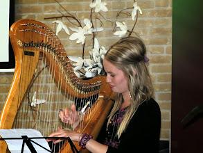Photo: Harpiste Manon Meijerink