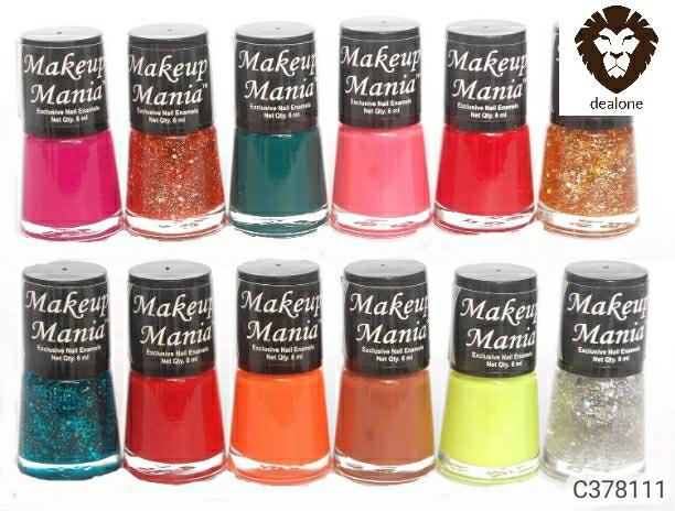 Makeup Mania Nail Polish Pack Of 12