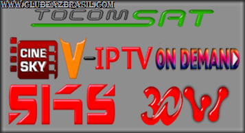 TOCOMSAT CINESKY V-IPTV ONDEMAND VIA SKS 30W