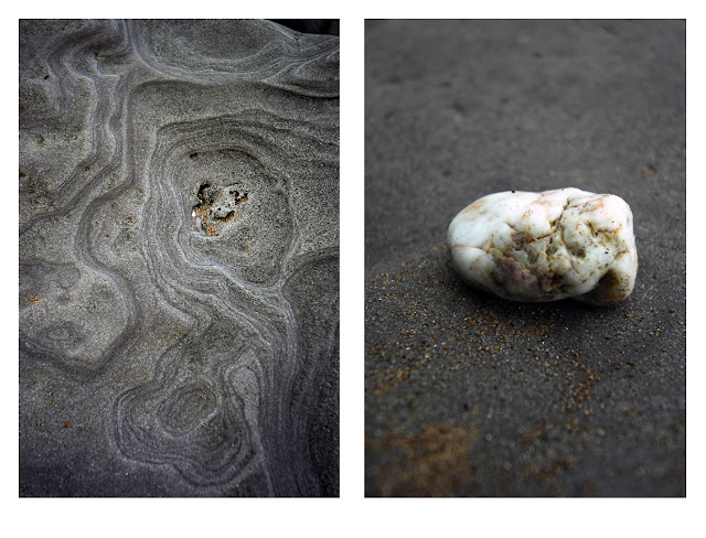 rock, stones, pebbles, texture, colours, sea