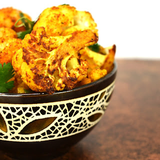 Roasted Curry Cauliflower Recipe