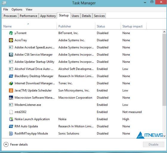 Windows-8-Startup
