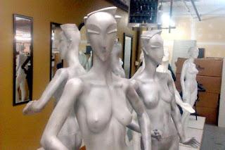 MANNEQUINS ~ EXOTIC ~ ART DECO STYLE - 1